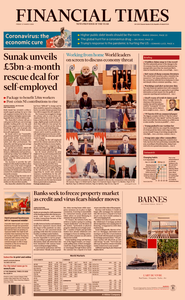 Financial Times UK - March 27, 2020