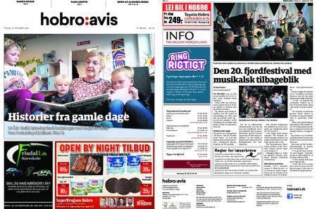 Hobro Avis – 25. september 2018