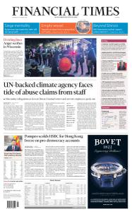Financial Times Europe - August 27, 2020