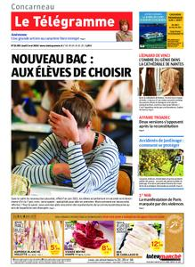 Le Télégramme Concarneau – 02 mai 2019