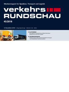 VerkehrsRundschau - 07. November 2018