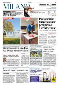 Corriere della Sera Milano – 29 agosto 2020