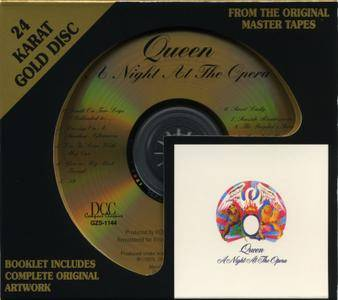 Queen - A Night At The Opera (1975) [DCC, GZS-1144]