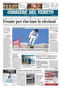 Corriere del Veneto Padova e Rovigo – 07 marzo 2020