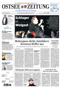 Ostsee Zeitung Wolgast - 03. Dezember 2018