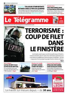 Le Télégramme Concarneau – 21 janvier 2020