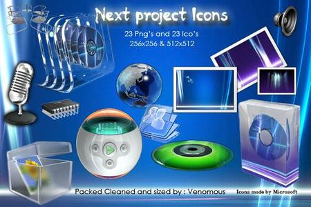 Next Project Icons + Next Project Icon's Limited Edition