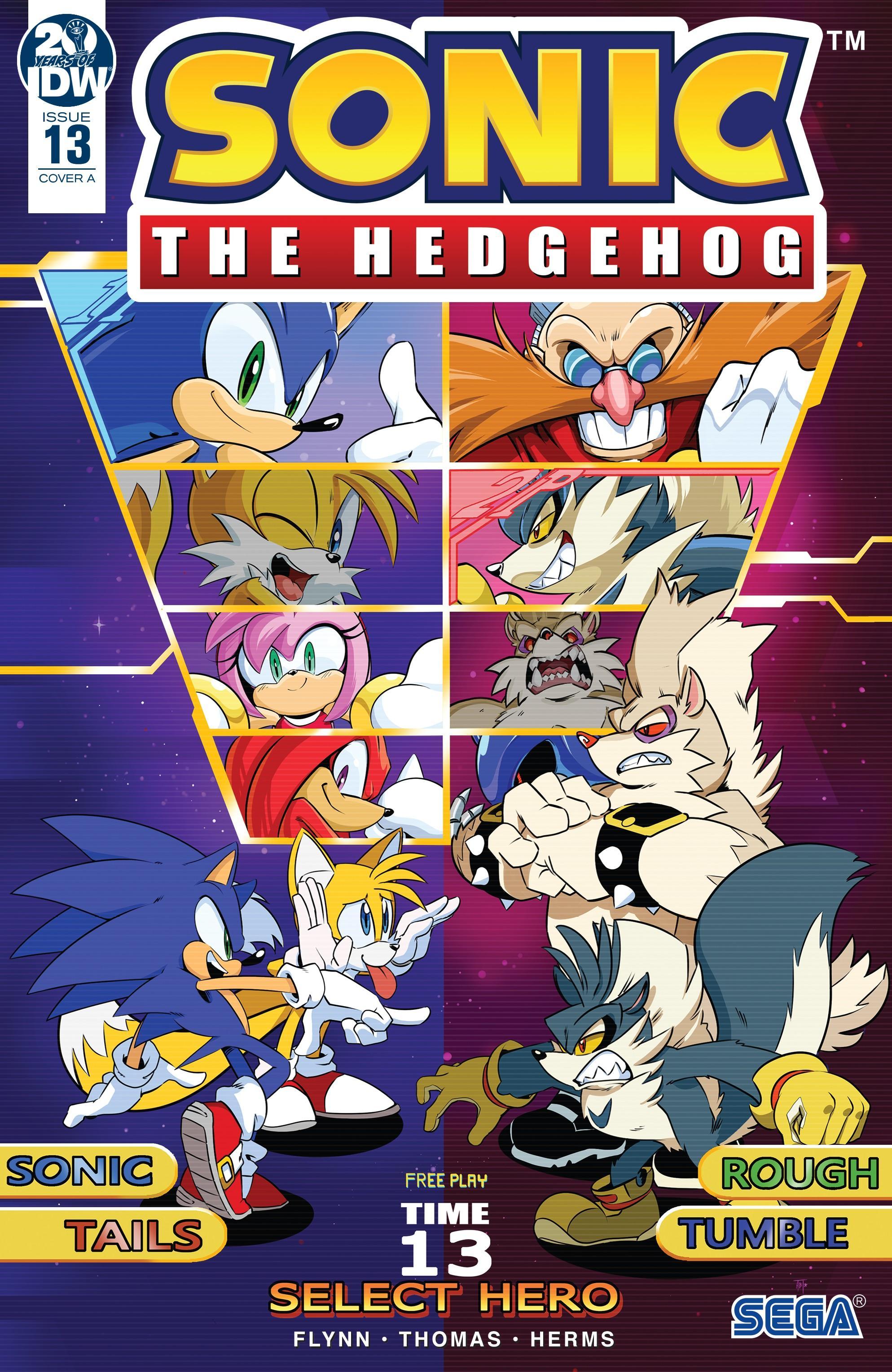 Sonic The Hedgehog 013 2019 Oroboros