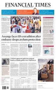Financial Times USA - April 12, 2019