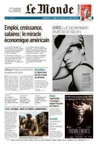 Le Monde du Dimanche 5 et Lundi 6 Mai 2019