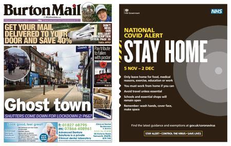 Burton Mail – November 06, 2020
