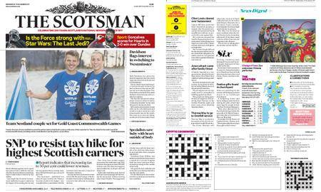 The Scotsman – December 13, 2017