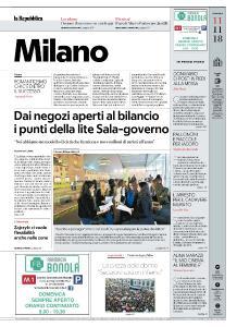 la Repubblica Milano - 11 Novembre 2018