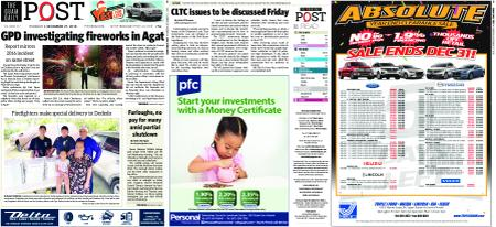 The Guam Daily Post – December 27, 2018