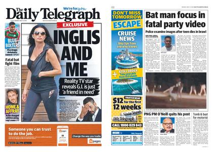 The Daily Telegraph (Sydney) – May 27, 2019