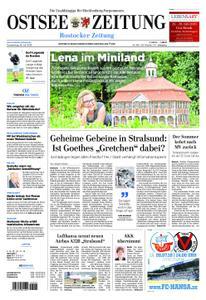 Ostsee Zeitung Rostock - 18. Juli 2019