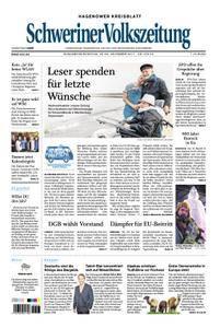 Schweriner Volkszeitung Hagenower Kreisblatt - 25. November 2017