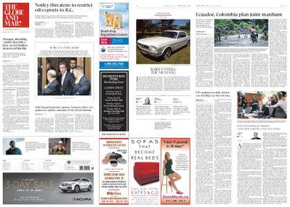 The Globe and Mail – April 17, 2018