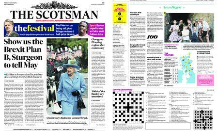 The Scotsman – August 07, 2018