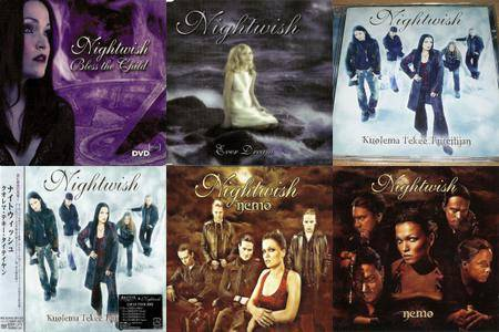 Nightwish: Singles & EP's Collection part 1 (2002-2004)
