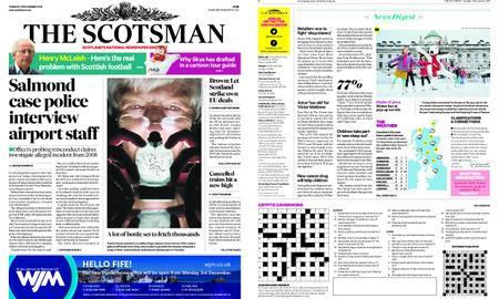 The Scotsman – November 13, 2018