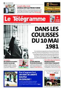 Le Télégramme Quimper – 10 mai 2021