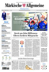 Märkische Allgemeine Fläming Echo - 01. Oktober 2018