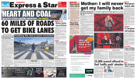 Express and Star Sandwell Edition – February 11, 2019