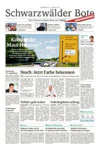 Schwarzwälder Bote Hechingen - 15. August 2019