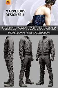 Marvelous Designer Professional Presets Collection