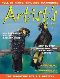 Artists Palette - October 2016