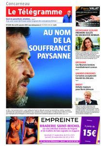 Le Télégramme Concarneau – 25 septembre 2019
