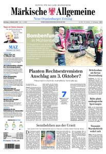Neue Oranienburger Zeitung - 02. Oktober 2018