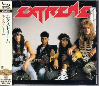 Extreme - Extreme (1989) [Japan SHM-CD, 2012]
