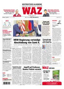 WAZ Westdeutsche Allgemeine Zeitung Oberhausen-Sterkrade - 17. Juli 2018