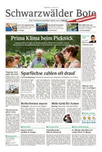 Schwarzwälder Bote St. Georgen, Triberg, Furtwangen - 22. Juli 2019