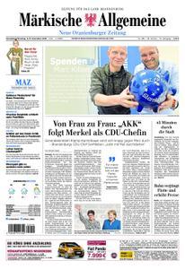 Neue Oranienburger Zeitung - 08. Dezember 2018