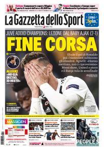 La Gazzetta dello Sport Roma – 17 aprile 2019