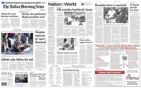 The Dallas Morning News – September 21, 2021