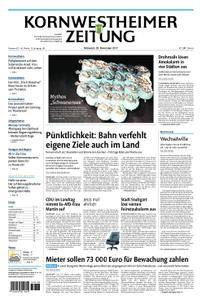 Kornwestheimer Zeitung - 29. November 2017