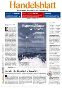 Handelsblatt - 09. Januar 2018