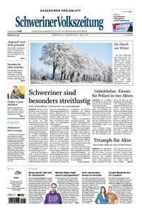 Schweriner Volkszeitung Hagenower Kreisblatt - 09. Januar 2018