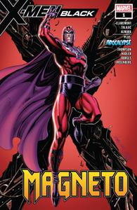 X-Men Black-Magneto 001 2018 Digital Zone