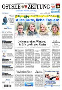 Ostsee Zeitung Wolgast - 08. März 2019