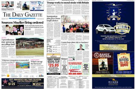 The Daily Gazette – January 26, 2018
