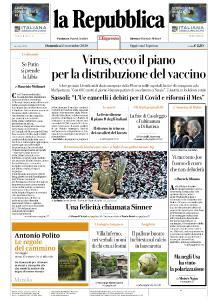 la Repubblica - 15 Novembre 2020