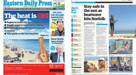 Eastern Daily Press – July 24, 2019