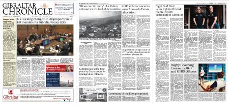Gibraltar Chronicle – 23 September 2021