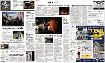 The Boston Globe – September 09, 2017