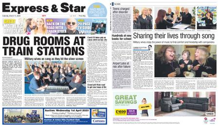 Express and Star City Edition – March 14, 2020